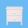 Liriana 2 Drawer Bedside