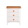 Cassidy 3 Drawer Bedside