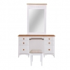 Cassidy 6 Drawer Dresser Cabinet With Mirror Frame
