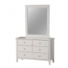 Chester 6 Drawer Dresser Cabinet With Mirror Frame