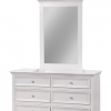Bolivar 6 Drawer Dresser Cabinet With Mirror Frame