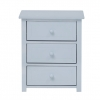 Lexington 3 Drawer Bedside