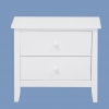 Shelton 2 Drawer Bedside